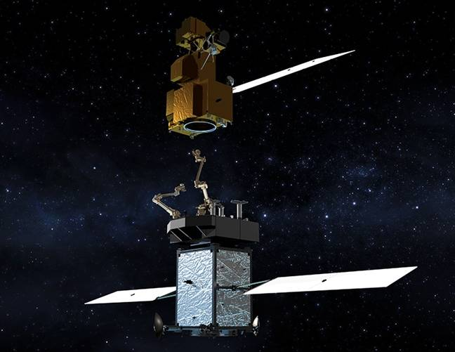 NASA spunks $127m on SSL-powered robot to refuel satellites in space
