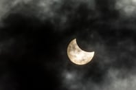 Eclipse photo via Shutterstock