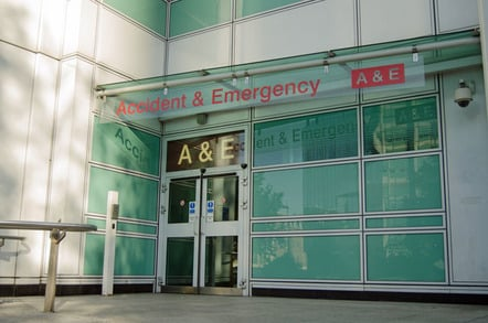 Hospital, photo via Shutterstock