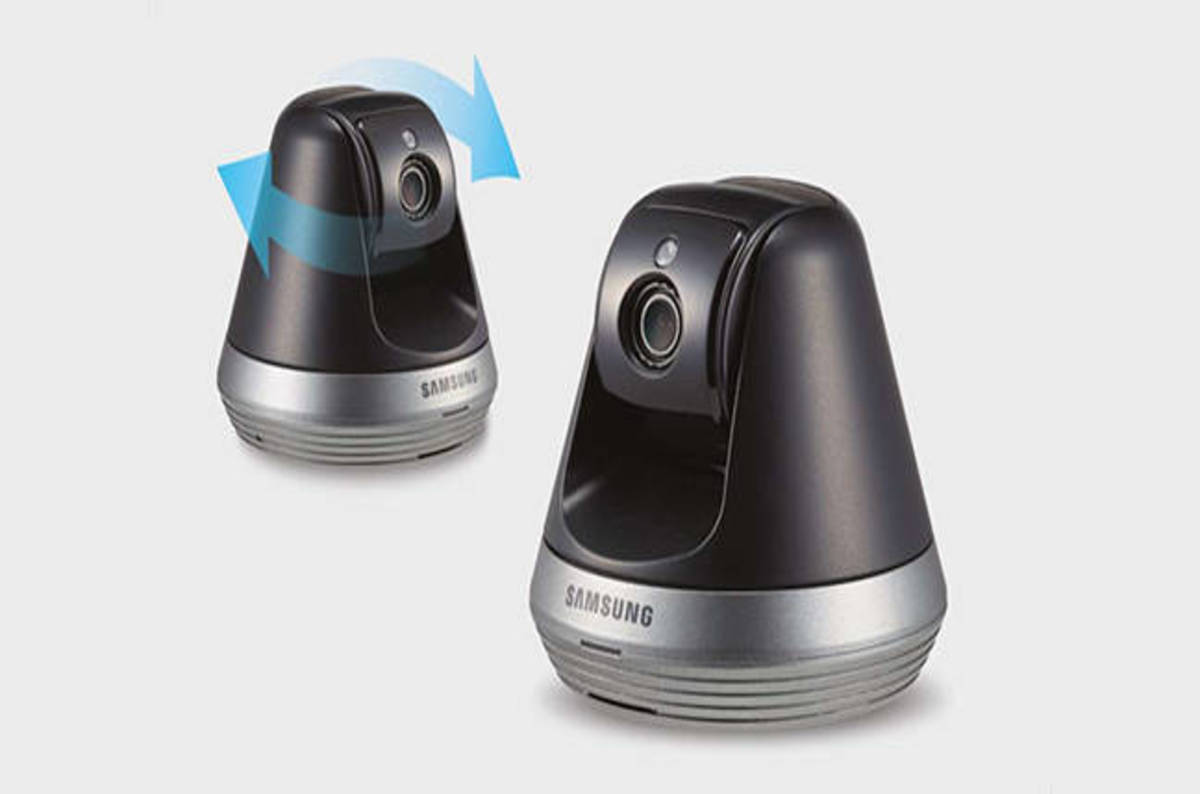 samsung smartcam yes those eyes really are following you. Black Bedroom Furniture Sets. Home Design Ideas