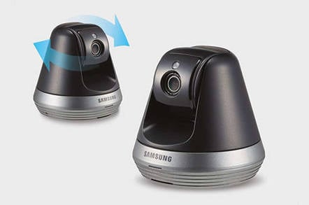 Samsung SmartCam: Yes, those eyes really are following you