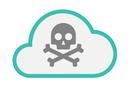 Skull and Crossbones in the cloud