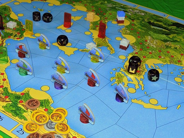 boat board game. Pic via pixabay