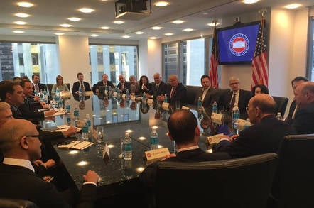 Trump meeting with tech leaders