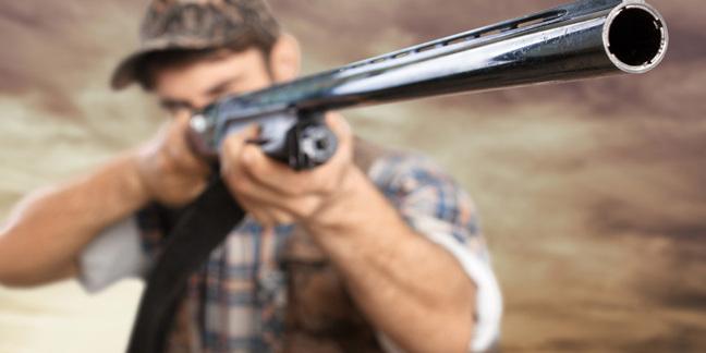 Hunter photo via Shutterstock
