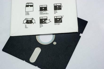 5.25 in floppy disk