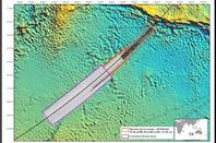 The area recommended as a new search zone in the hunt for MH370