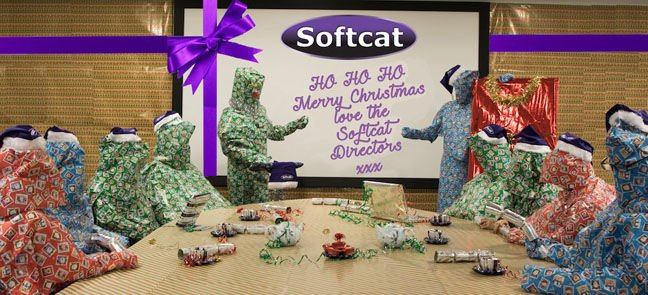 Softcat christmas calendar (for charity)... pic provided by softcat