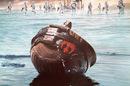 Rebel helmet Rogue One Russian poster
