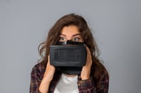 Surprise VR googles photo via Shutterstock