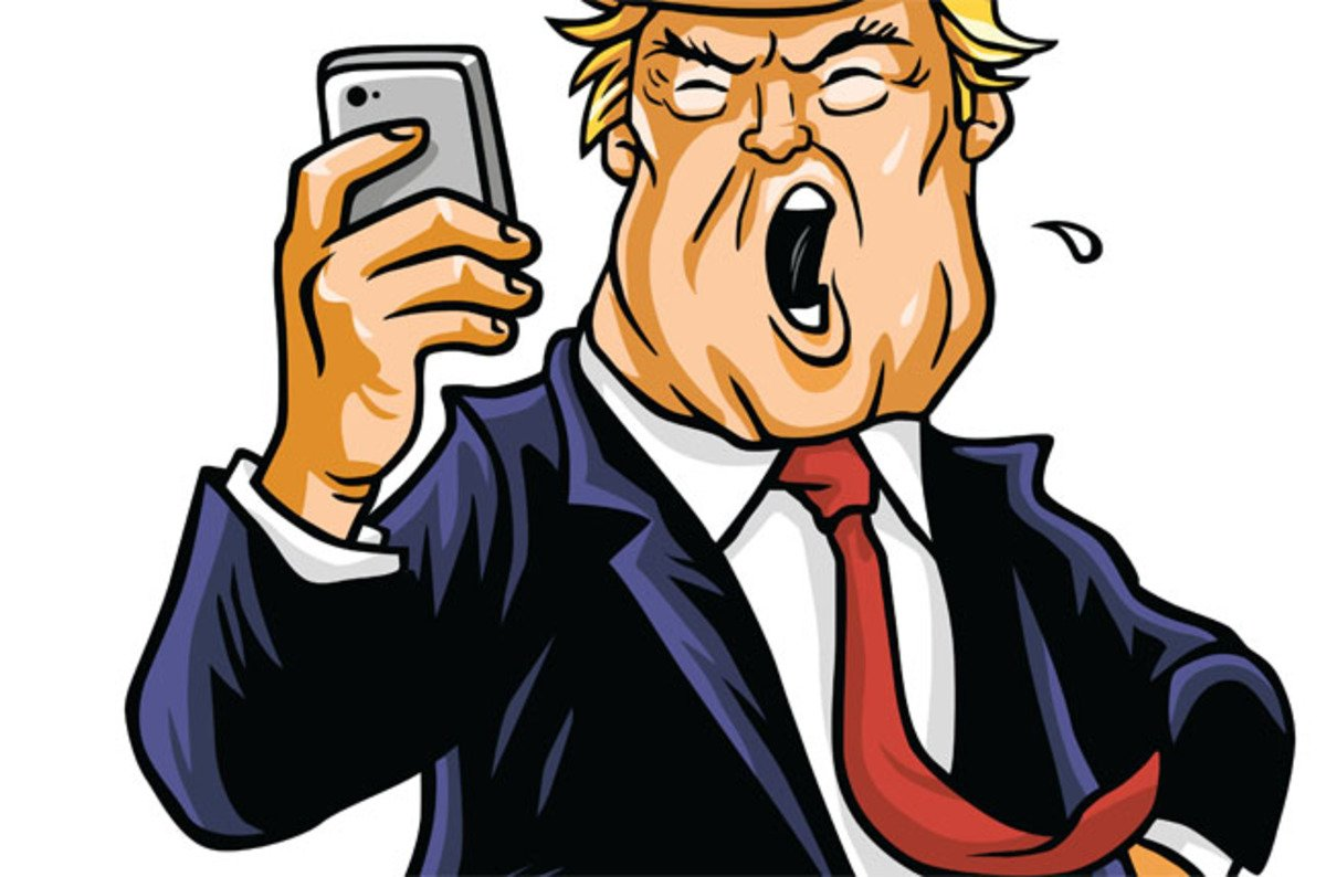 President Trump tweets from insecure Android, security ...