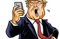 Twitter Trump photo via Shutterstock
