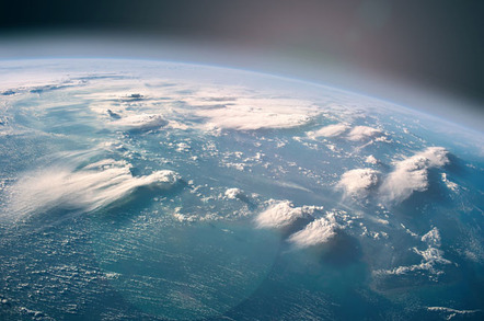 Ocean from above photo via Shutterstock