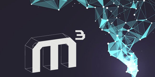 logo for mcubed conference