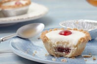 Cherry bakewell... thick white icing, maraschino cherry. A lot of people probably eat it without a problem or even consider it tasty. Photo by shutterstock