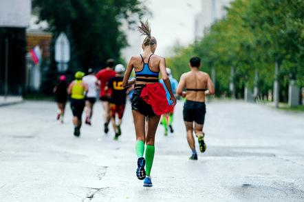 Runner photo via Shutterstock