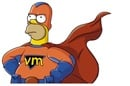 Homer Simpson virtual machine superhero