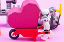 Stormtrooper heart photo via shutterstock