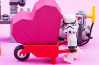 Stormtrooper heart photo via shutterstock