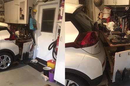 Chevy Bolt Electric Car Came Alive Reversed Into My Workbench Says
