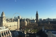 The view from the QE II conference centre