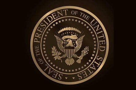 Official Seal of the President of the United States.
