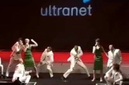 Still from ABC's video of the Ultranet launch