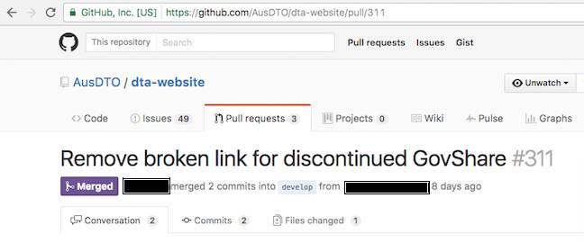 DTA GitHub screen-cap