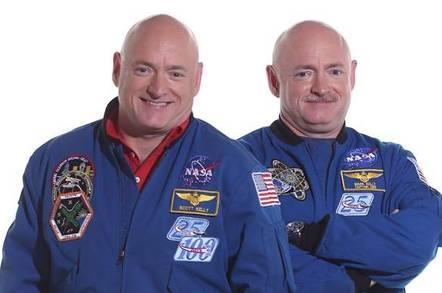 NASA's astronauts Scott and Mark Kelly