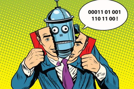 Robot numbers photo via Shutterstock