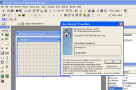 Visual Basic 6.0, the last version before .NET