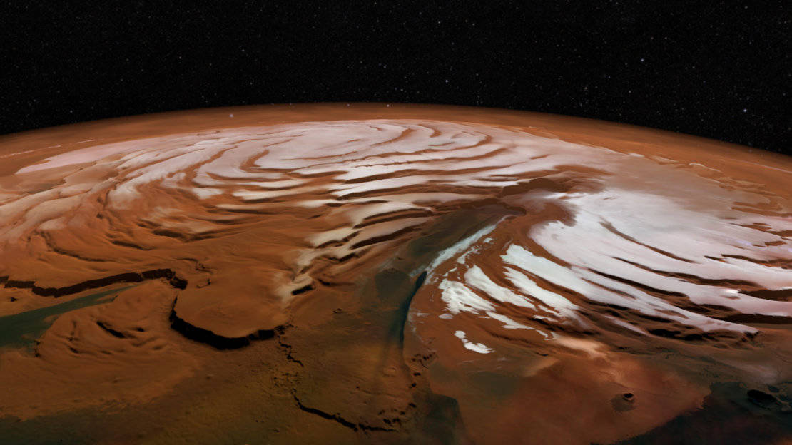 Two billion years of volcanic activity on Mars unveiled