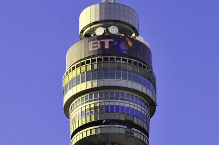 BT Tower photo via Shutterstock