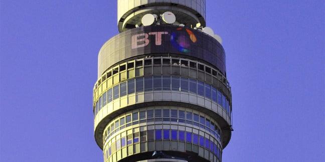BT Tower photo via Shutterstock