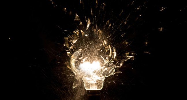 Light bulb photo via Shutterstock