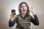 mobile phone rage