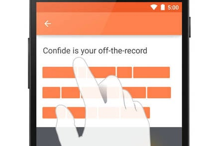 Confide for Android screenshot