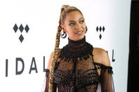 NEW YORK - OCT 15, 2016: Beyonce Knowles attends the TIDAL X: 1015 concert at the Barclays Center on October 15, 2016, in New York. Editorial credit: JStone / Shutterstock, Inc. (editorial use only)