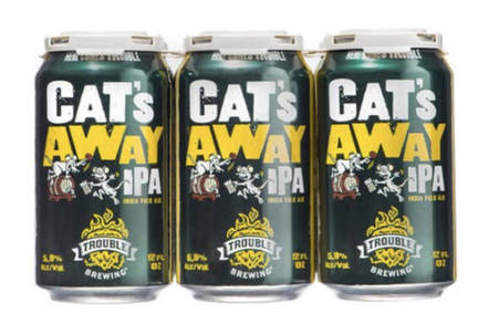 Walmart 'Cat's Away IPA'