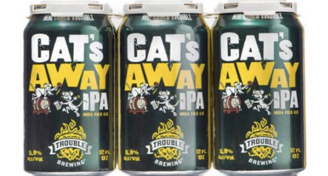 Walmart 'Cat's Away IPA'