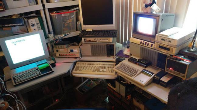 Greg McGill's TI-99 setup