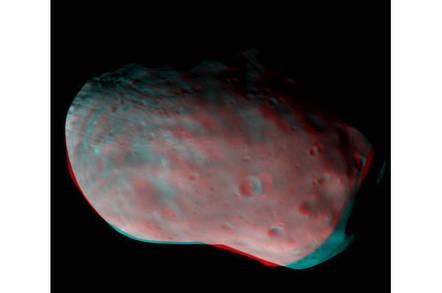 ESA's Phobos 3D image