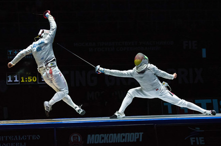 Fencers photo via Shutterstock