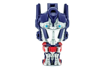 Optimus prime photo via Shutterstock