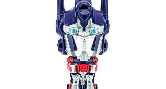Optimus prime photo via Shutterstock