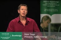 Peter Sage, principal of Space Energy, giving a talk in 2012. He is currently imprisoned for contempt of court