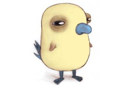 Upspin's mascot, Augie