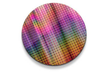 A wafer full of Intel's C3000 Atoms