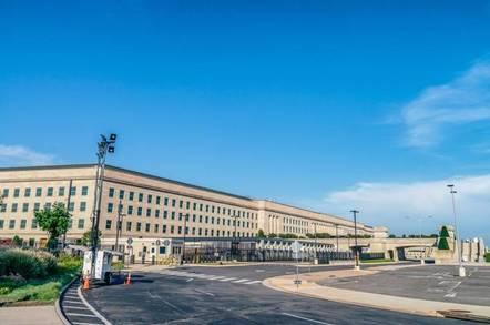 The Pentagon Building outside Washington, DC