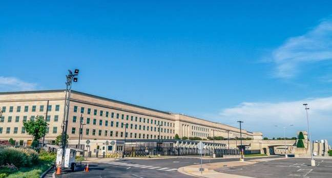 The Pentagon Building outside Washington, DC